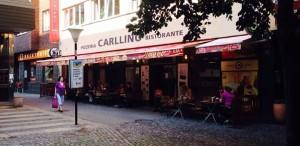 Kuchař, pizzerie Carllino, ul. Křížíkova, Praha 8.